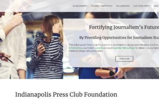 IPCF Website Screenshot